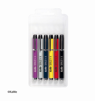 KaWe Cliplight set LED, 6 verschillende kleuren