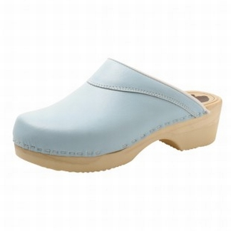 """BigHorn clogs with flexible sole ; """"Blue"""""""