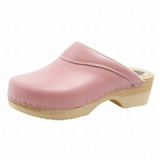 """BigHorn clogs with flexible sole ; """"Pink"""""""