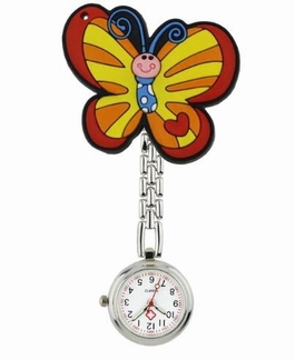 Verpleegkundige klokje; Vlinder