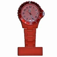 Neon verpleegkundige klokje; Rood