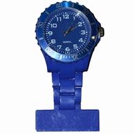 Neon verpleegkundige klokje; Donkerblauw