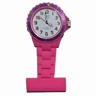 Neon verpleegkundige klokje; Roze