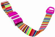 Stuwband;  Bar code pink