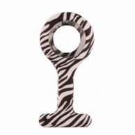 Siliconen hoesje; Zebra