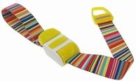 Stuwband;  Bar code yellow