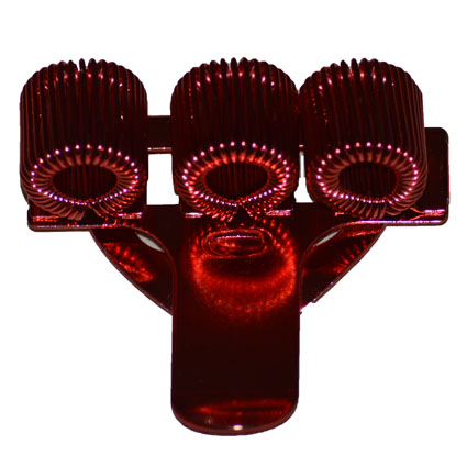 Pennenhouder voor drie pennen; Rood
