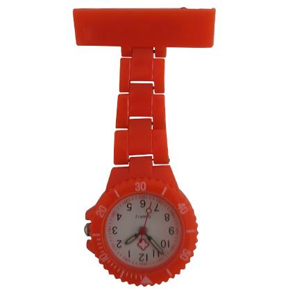 Neon verpleegkundige horloge; orange