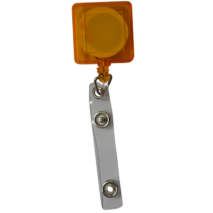 JoJo vierkant; Transparant orange