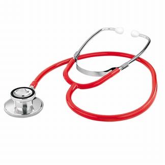 KAWE basis stethoscoop double; Rood