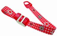 Stuwband;  Edelweis rood