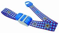 Stuwband;  Edelweis blauw