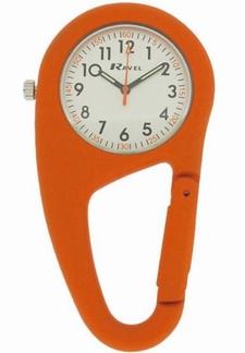 Stoer verpleegkundige klokje in stevige behuizing, orange