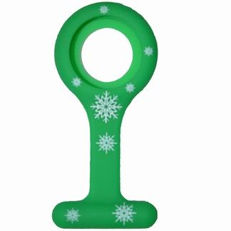 Siliconen hoesje; Kerst groen