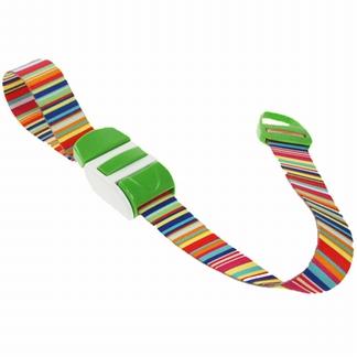 Stuwband;  Bar code lime
