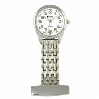 Mooi afgewerkt horloge; zilver
