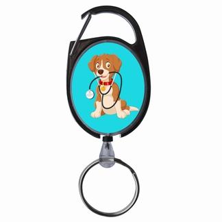 JoJoluxe met afbeelding; Hond met stethoscoop