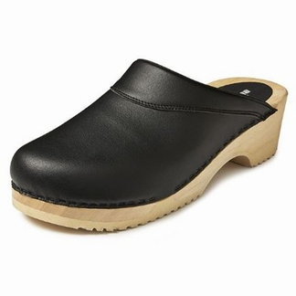BigHorn clogs, met buigzame zool ; Zwart
