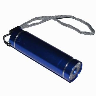 Zaklampje aluminium LED; Blauw