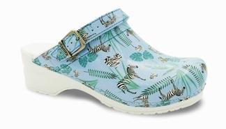 Sanita Klompen Flex Animal Zebra