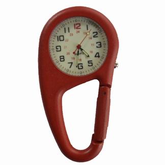 Stoer verpleegkundige klokje in stevige behuizing, Rood