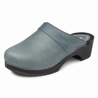 """BigHorn clogs with flexible sole ; """"Green"""""""
