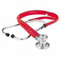 KaWe Rappaport stethoscope, red
