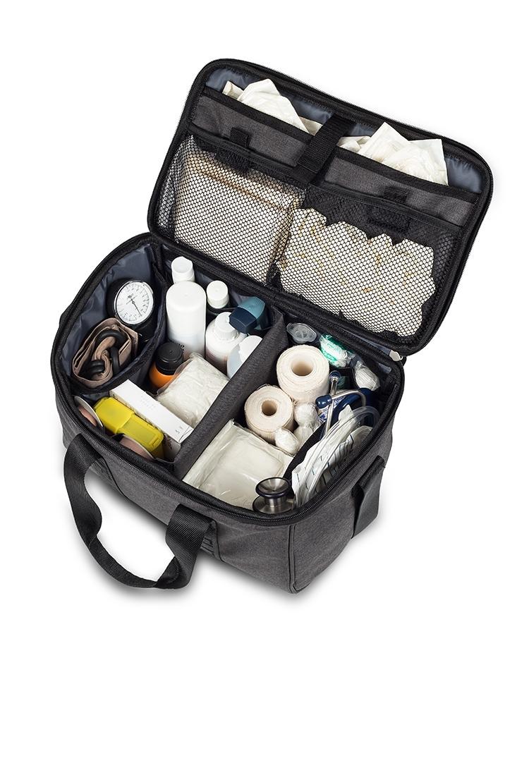 """Praktiche """" eerste hulp"""" tas: Antraciet"""