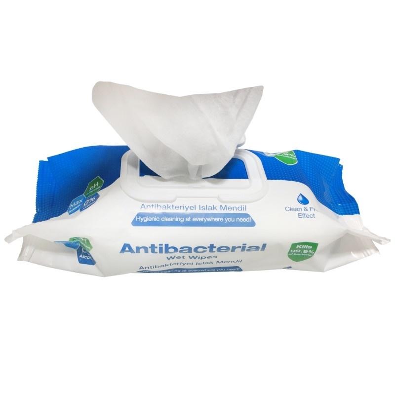 Desinfectiepads in handige box; 150 stuks