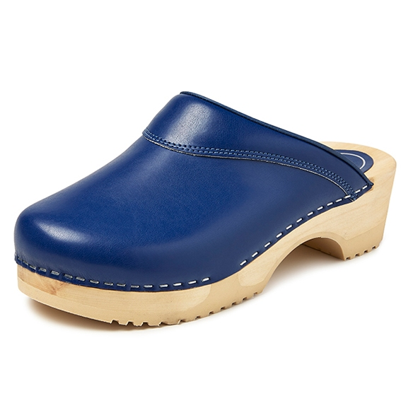 "BigHorn clogs with flexible sole ; ""Blue"""