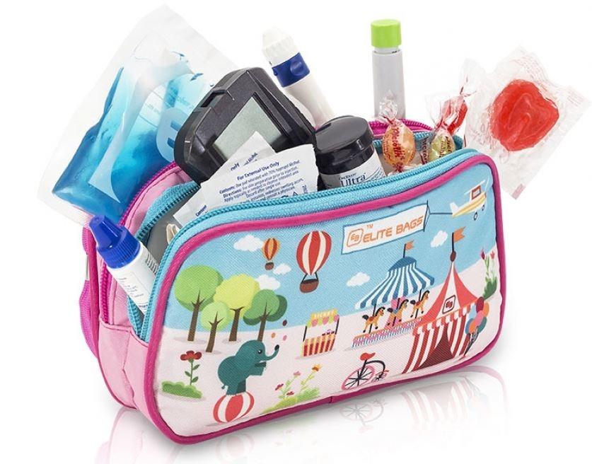 Diabetic tasje; Kinderpatroon speeltuin