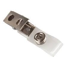 Metalen cliphouder voor badge ed.