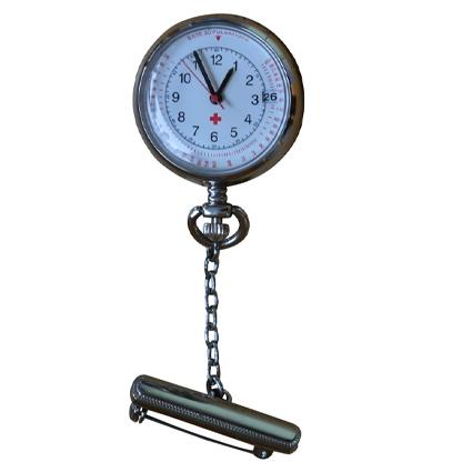 Mooi afgewerkt horloge met kalenderfunctie; Zilver