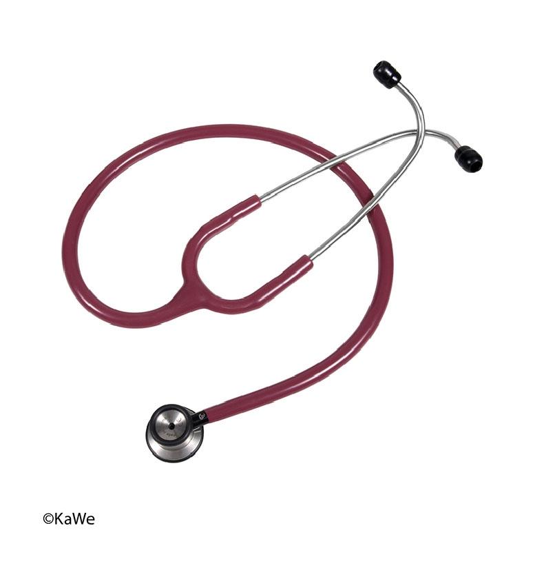 Presige Stethoscoop, baby; Rood boorgogne