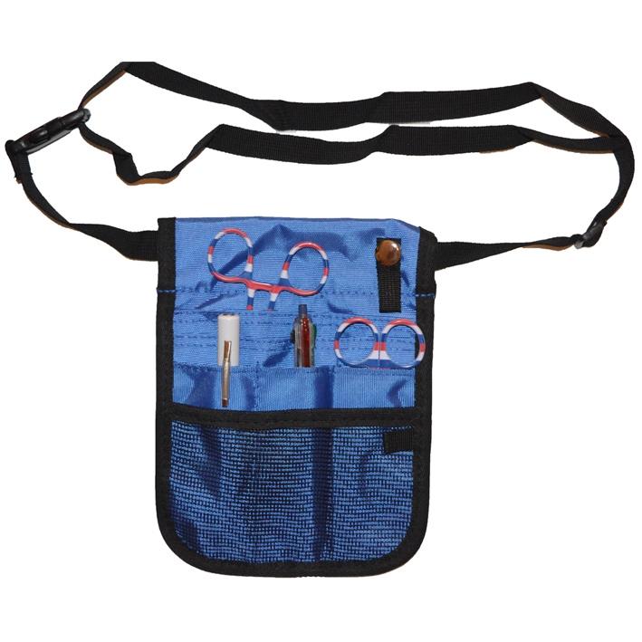 Professionele buidel organizer (blauw)