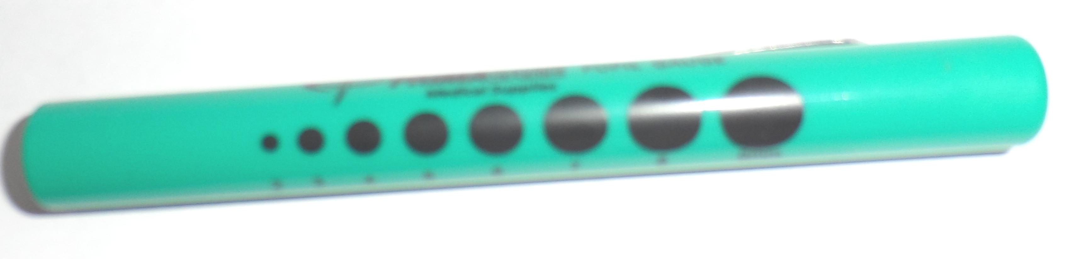 Pupillampje disposable, groen