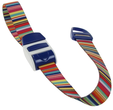 Stuwband;  Bar code blue