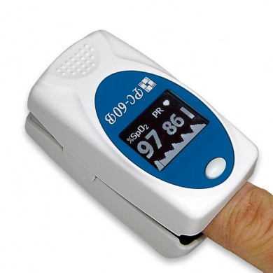 Biosync Pulse Oximeter (saturatiemeter) to place on finger