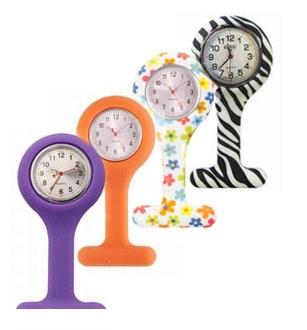 Verpleegkundige klokjes; Siliconen standaard